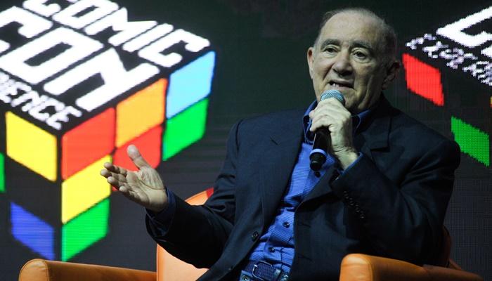 Renato Aragão, em homenagem no painel dedicado ao comediante na Comic Con Experience 2016 (Foto: Globo /Reinaldo Marques)