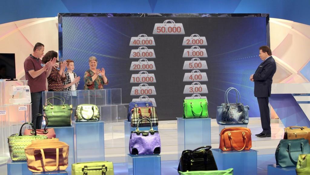 Bolsa Família do programa Silvio Santos (Foto: Reprodução)