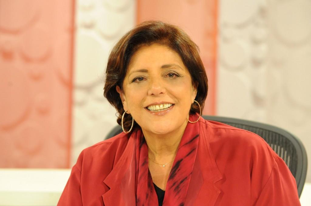 Leda Nagle apresentava o programa Sem Censura (Foto: Reprodução)