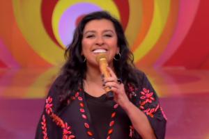 A apresentadora Regina Casé (Foto: Reprodução/Globo)