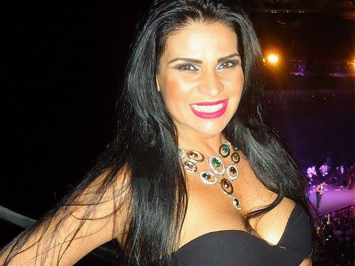 Solange Gomes ex-participante do programa do Gugu (Foto: Divulgação)