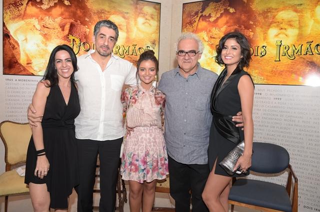 Globo Maria Camargo, Michel Melamed, Gabriela Mustafá, Milton Hamoud e Leticia Almeida (Foto: Globo/Estevam Avellar)