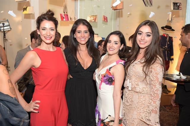Victoria Blat, Yasmin Garcês, Giulia Nadruz e Sura Zachia (Foto: Globo/Estevam Avellar)