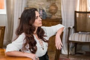 """Loretta (Claudia Ohana) em """"Sol Nascenet"""" (Foto: Globo/Paulo Belote)"""