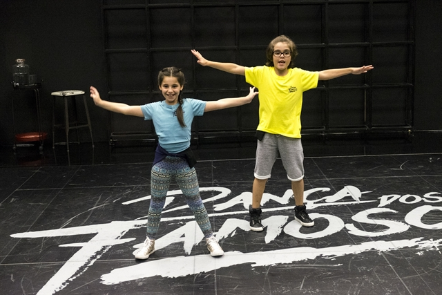 Xande Valois e Duda Almeida - Dancinha dos Famosos (Foto: Globo/Renato Rocha Miranda)