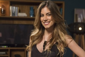 Bruna Hamu. Foto do site da O TV Foco que mostra Seis meses após dar à luz, Bruna Hamú surpreende com corpo e fala sobre dieta