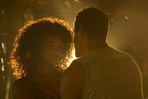 Dora (Juliana Alves) e Tiago (Marcello Melo Jr.) terminam o casamento em 'Sol Nascente' (Foto: Globo/Mauricio Fidalgo)