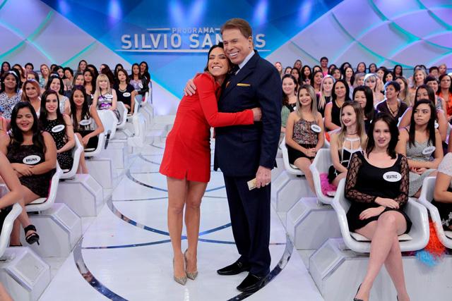 Silvio Santos é pai de Patricia Abravanel (Foto: Reprodução)