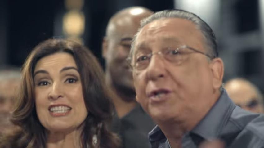 Fátima Bernardes e Galvão Bueno comandam Carnaval e futebol na Globo