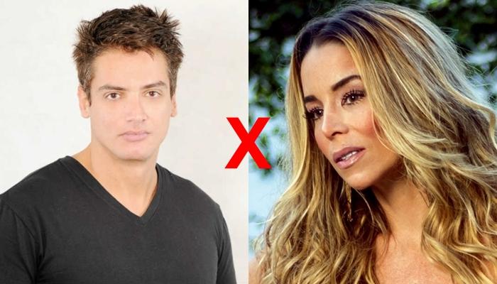Leo Dias e Danielle Winits (Foto: Divulgação/Montagem)