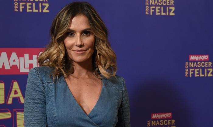 """Deborah Secco no lançamento de """"Malhação: Pro Dia Nascer Feliz (Foto: Globo/Estevam Avellar)"""
