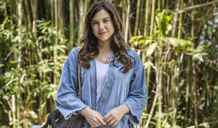 Isabela/Marina (Alice Wegmann) em 'A Lei do Amor' (Foto: Globo/Mauricio Fidalgo)