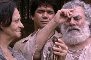 """Cena da novela """"A Padroeira"""" (Foto: Reprodução/TV Aparecida)"""