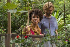 """Laura (Heloísa Jorge) e Pedro (Reynaldo Gianecchini) em """"A Lei do Amor"""" (Foto: Globo/Cesar Alves)"""