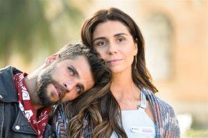 "Mario (Bruno Gagliasso) e Alice (Giovanna Antonelli) em ""Sol Nascente"" (Foto: Globo/Ramón Vasconcelos)"