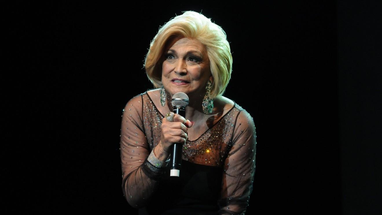 A apresentadora Hebe Camargo. ( Foto: Divulgação)