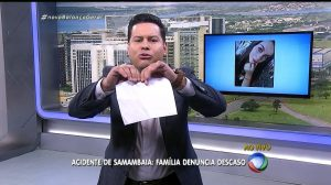 """Marcão do Povo no comando do """"Balanço Geral DF"""" (Foto: Reprodução/Record)"""