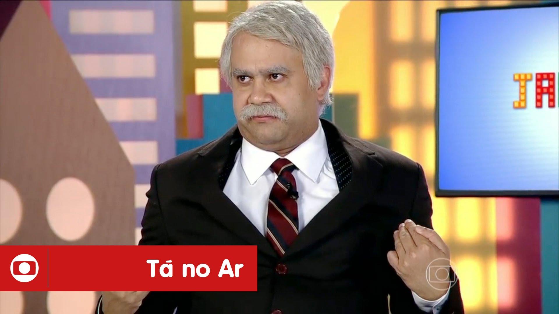 """0549f1f38 Humorista do """"Tá no Ar"""" revela câncer e insatisfação com """"Zorra Total""""   """"Não é meu tipo de humor"""" – TV Foco"""