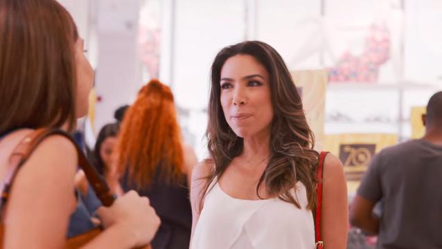 Patricia Abravanel em comercial das lojas Marisa (Foto: Reprodução)