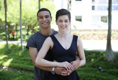 Sergio Malheiros e Sophia Abrahão. (Foto: Divulgação)