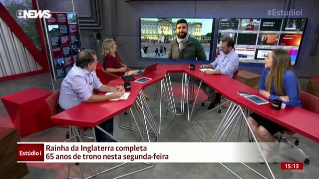 Net deixa GloboNews sem áudio por mais de uma hora.