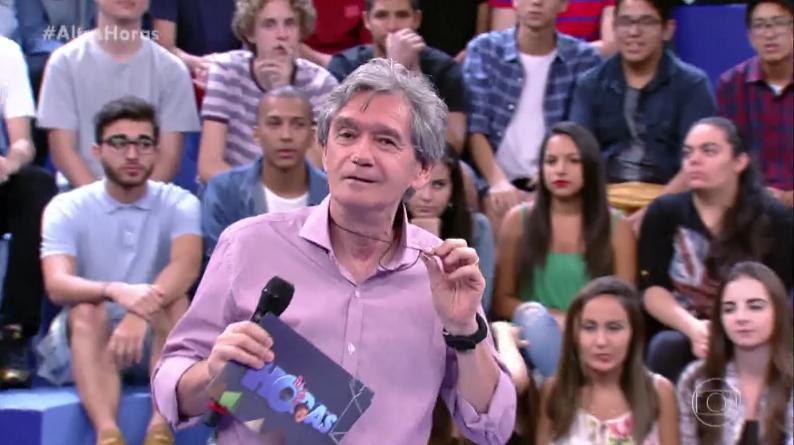 Fã declara ter sonhos eróticos com Serginho Groisman e surpreende apresentador