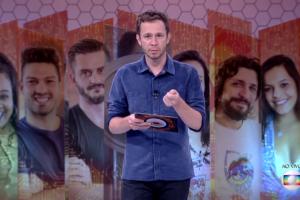 "Tiago Leifert apresenta o ""BBBB17"" (Foto: Reprodução/Globo)"