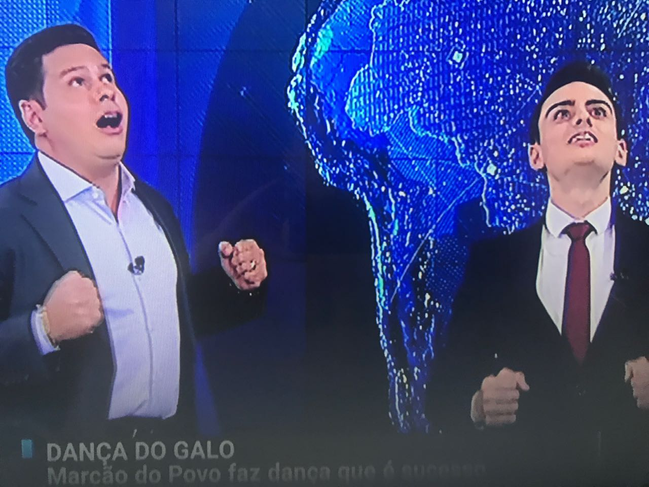 Marcão do Povo e Dudu Camargo vão estrear novo telejornal no SBT (Foto reprodução)