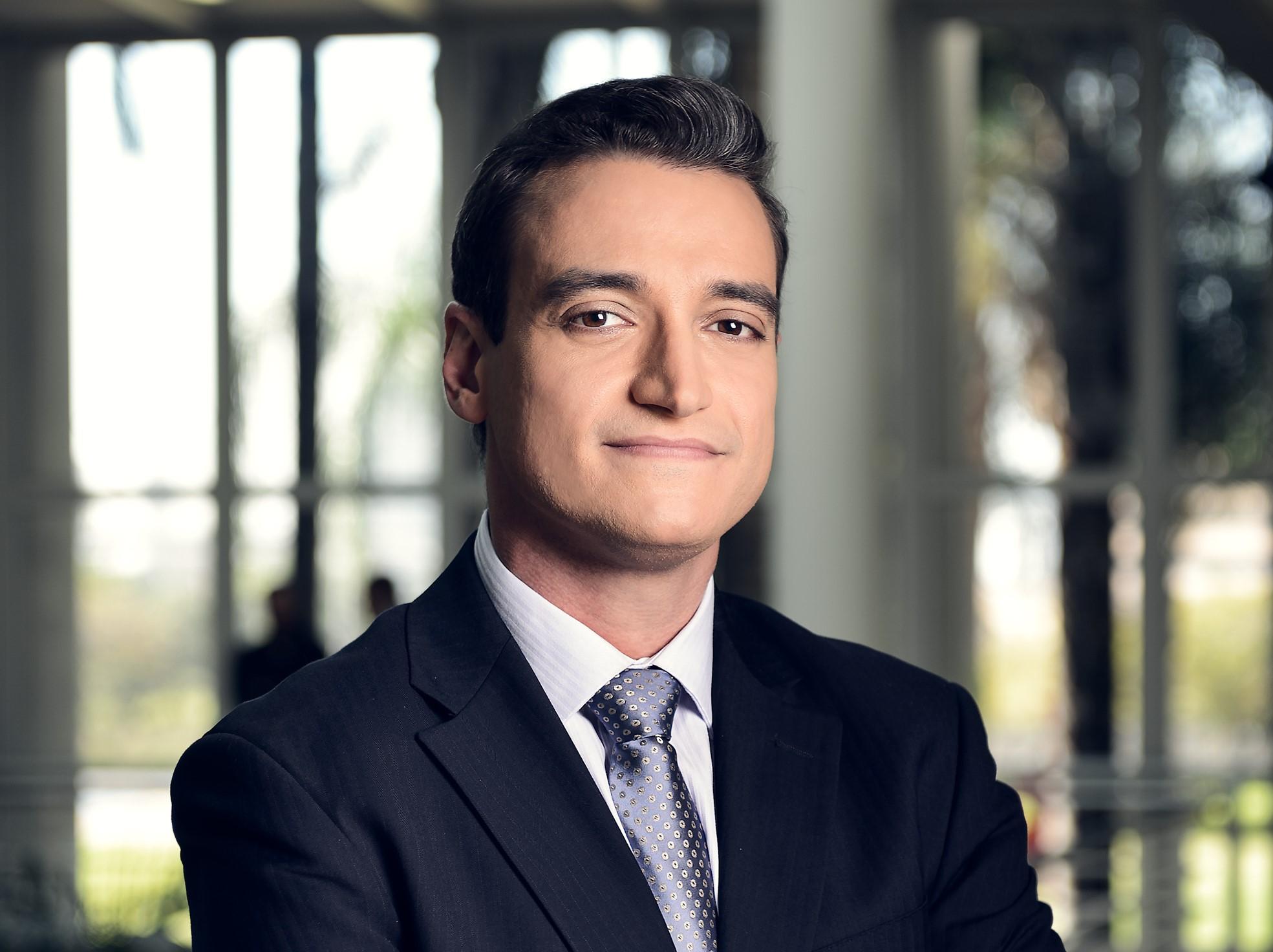Tiago Scheuer, da Globo (Foto: Reprodução)