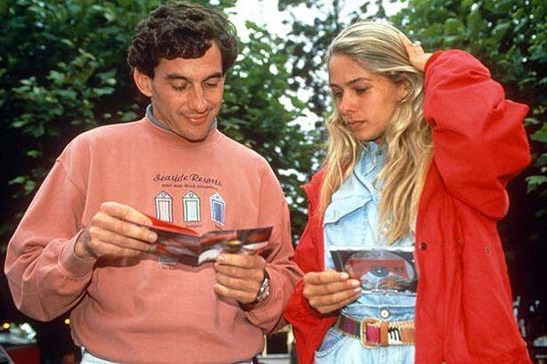 Adriane Galisteu namorou com Ayrton por um ano e meio (Foto : Reprodução)