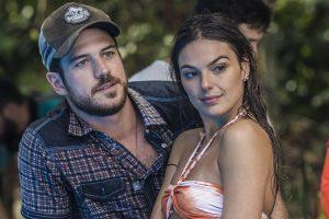"""Marco Pigossi (Zeca) e Isis Valverde (Rita) em """"A Força do Querer"""" (Foto: Renan Castelo Branco/Gshow)"""
