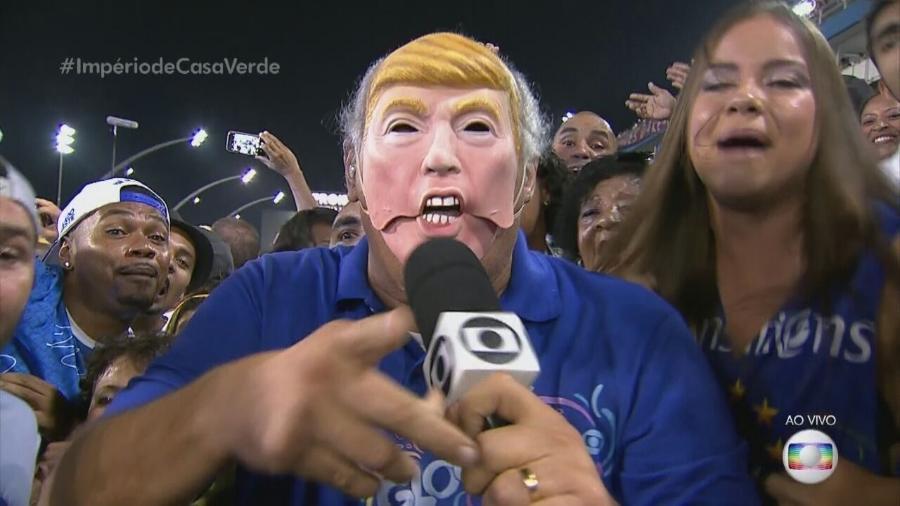 O repórter Márcio Canuto. (Foto: Reprodução)
