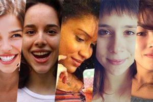 """As cinco protagonistas de """"Malhação: Viva a Diferença"""" (Foto: Arquivo pessoal)"""