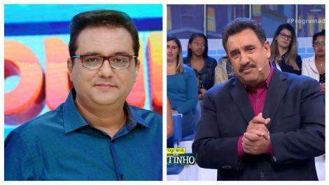 Ratinho e Geraldo Luís (Foto montagem: TV FOCO)