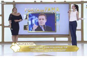 """Rita Cadillac participou do quadro """"Porta da Fama"""" (Foto reprodução)"""
