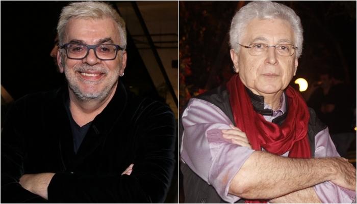 Walcyr Carrasco e Aguinaldo Silva. (Foto: Montagem/Divulgação)