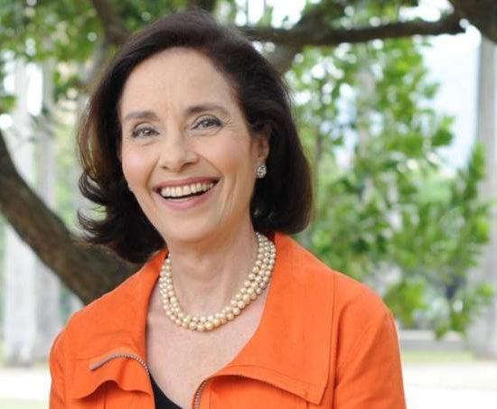 A jornalista Vera Barroso (Foto: Divulgação)