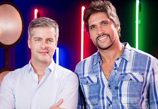 A dupla Victor & Léo no The Voice. (Foto: Divulgação)