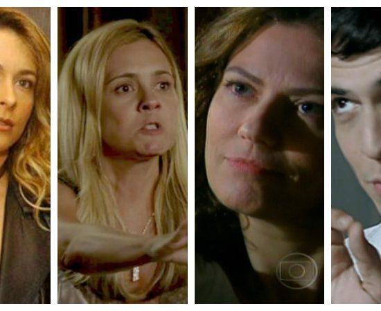 Vilões que marcaram nossa história (Foto montagem: TV FOCO)