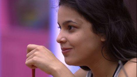 """Emilly durante conversa no """"BBB17"""" (Foto: Divulgação/Globo)"""