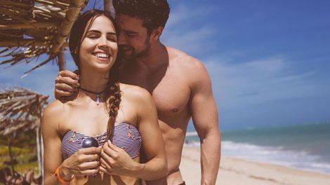 Pérola Faria e Bernardo Velasco em foto romântica (Foto: Reprodução/Instagram)