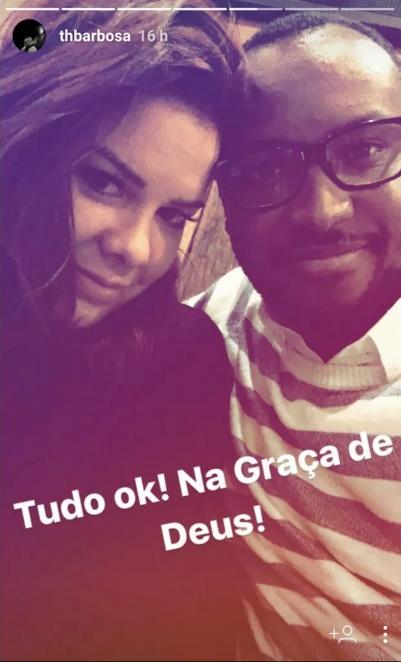 Thiaguinho e Fernanda Sousa  (Foto: Reprodução)