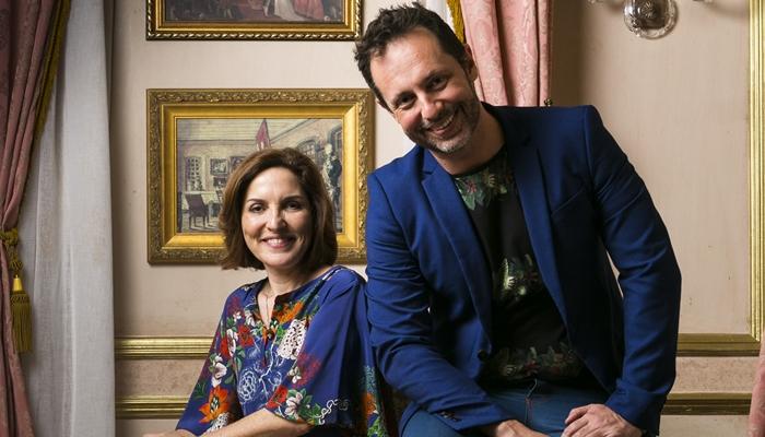 Thereza Falcão e Alessandro Marson (Foto: Globo/Raquel Cunha)