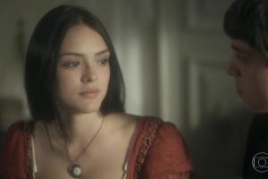 """Anna (Isabelle Drummond) em cena de """"Novo Mundo"""" (Foto: Reprodução/Globo)"""
