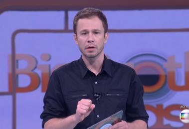 Tiago Leifert no Big Brother Brasil; Globo vai faturar alto com o BBB20 (Foto: Reprodução/Globo)
