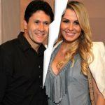 Gian e sua ex-mulher, Tati Moreto. Arte: O Dia.