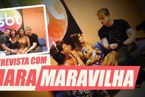 Aaron e Ofrásia entrevistam Mara Maravilha