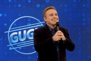 O apresentador Gugu Liberato em seu programa na Record (Foto: Antonio Chahestian/Record)