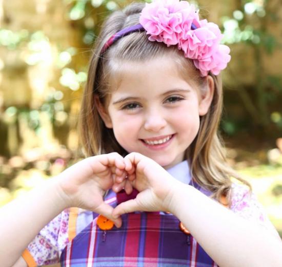 A pequena Lorena Queiroz. (Foto: Divulgação/SBT)
