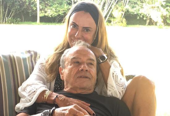 Marilene Saade e o marido, Stênio Garcia (Foto: Reprodução/Instagram)